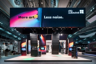 d&b audiotechnik  Prolight + Sound 2015-2018 / Messedesign - tradefair design